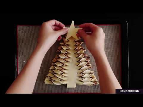 how to make Christmas Tree Nutella,Good nutella snacks,Easy nutella snack recipes,Nutella snack idea - YouTube