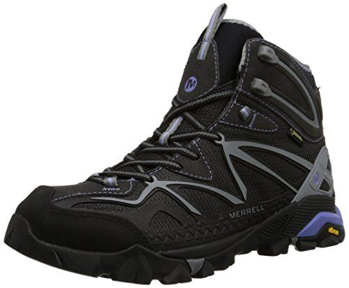 """Merrell Women's Capra Sport Gore-Tex Hiking Boot... Fashion meets function in these vegan women's hiking boots.  They are the epitome of cruelty free style for giving you way more than the """"moral advantage""""."""