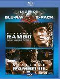 Rambo: First Blood II/Rambo: First Blood III [2 Discs] [Blu-ray]