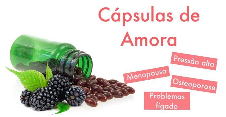 As cápsulas de amora são um suplemento alimentar que pode ser utilizado para tratar os sintomas da menopausa e da osteoporose, por exemplo, devido às...