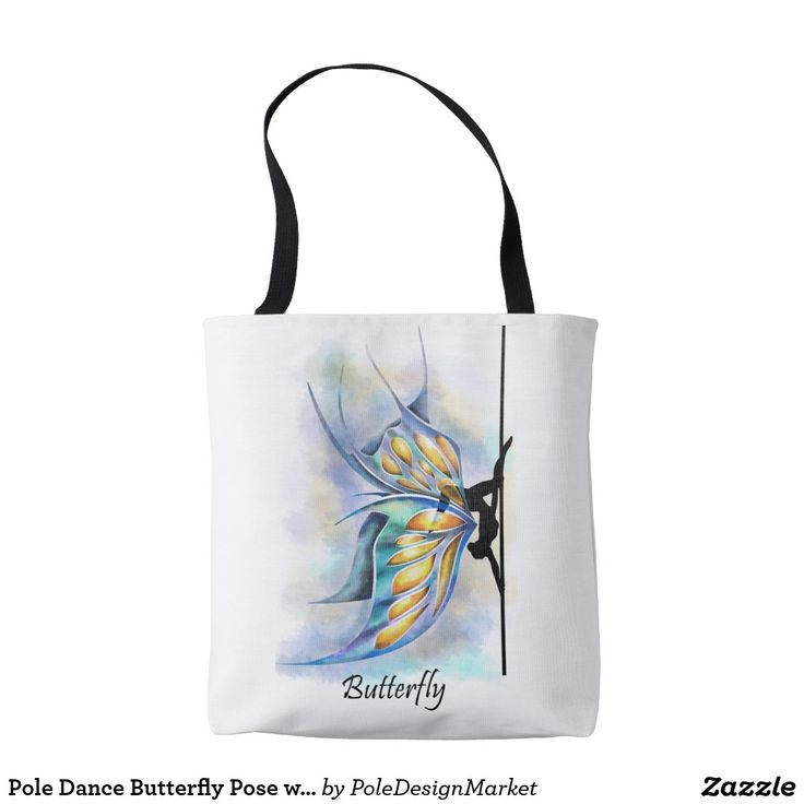 Pole Dance Butterfly Move with Butterfly Wings Bag  #PoleFitness #PoleDance