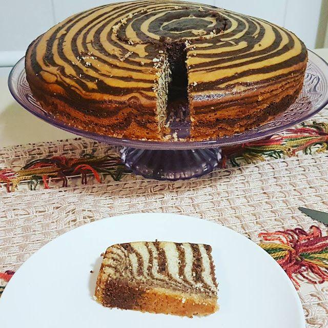 Receita de bolo mesclado