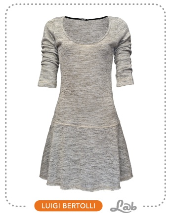 Vestido Lurex Moletom - Ref. 57.06.0014