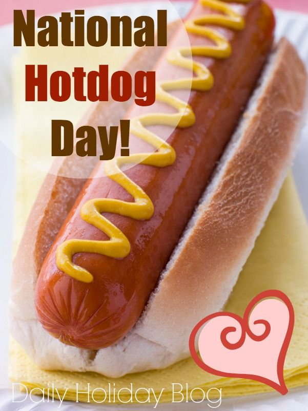 Recipes and fun facts for National Hotdog day!  Fun blog!