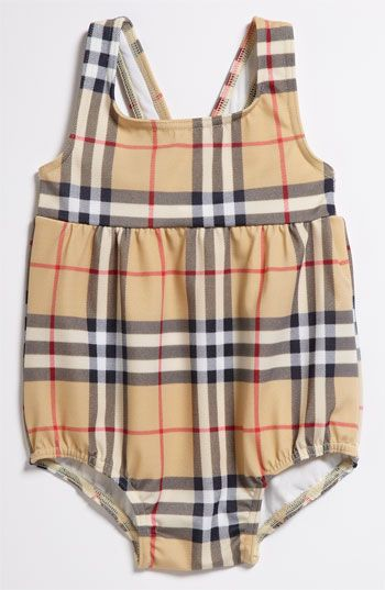 This is so gonna be @Melody Preachers babies with their Burberry bathin suit!!haha