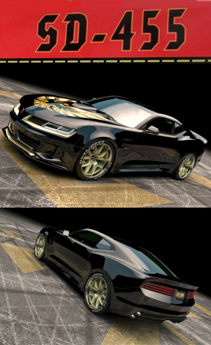 2017 Pontiac Trans Am Super Duty 455 with 1,000 horsepower and 1,046 lb. ft. of torque. Click on photo to read more.