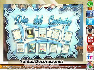 Yolitas Decoraciones: Mural de Día del Contador en Panamá