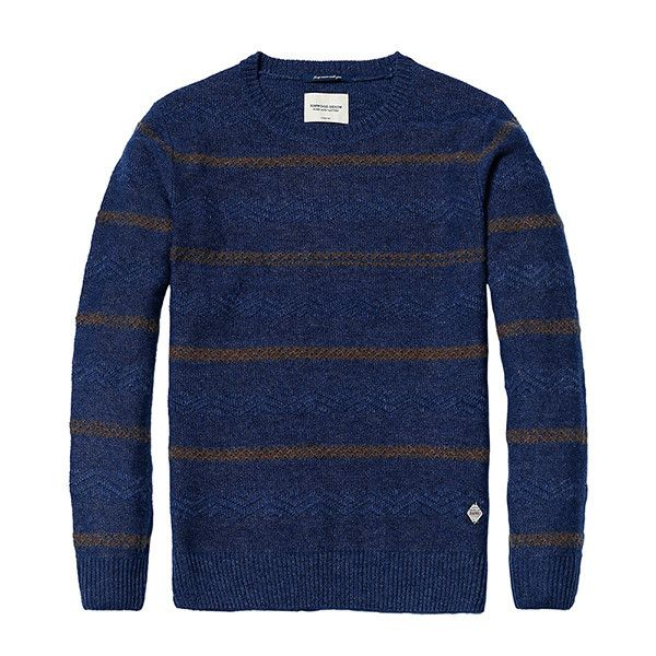 SIMWOOD New Autumn Winter Cotton Sweaters Men Casual Fashion Kintwear Pullovers Slim Fit