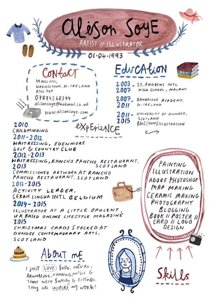 Best 25+ Cv template ideas on Pinterest Layout cv, Creative cv - creative resumes templates