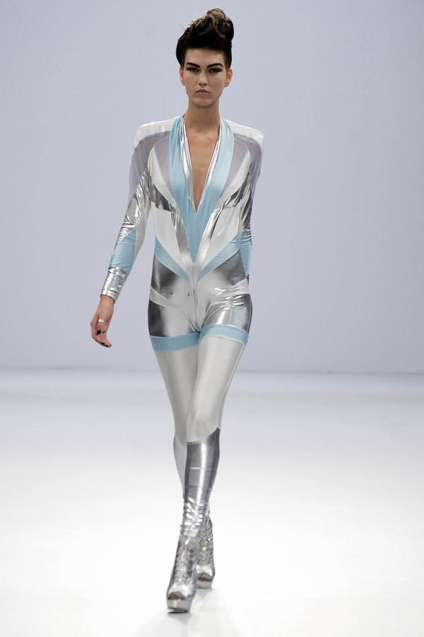 Pam Hogg Metallic Catsuit                                                                                                                                                                                 More