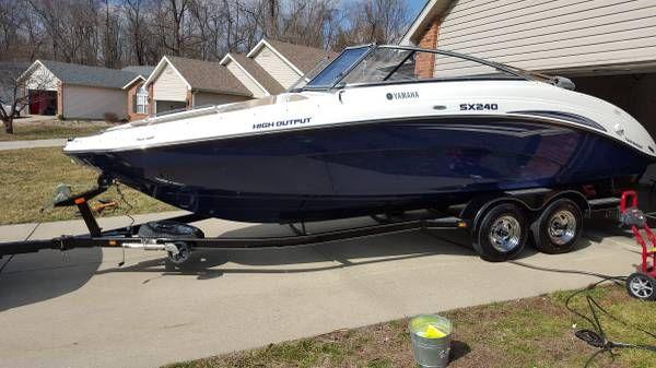 En venta de Ocasión Yamaha SX240 Jet Boat de 2011
