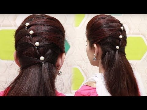 Quick Hairstyles For Long Hair Tutorial Simple Hairstyles For
