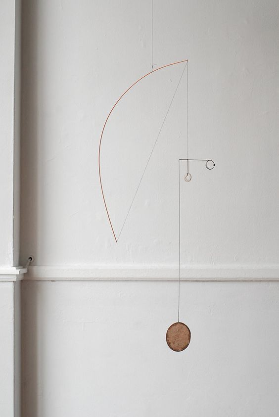 Forms from Wire & Paper – Hanging Mobiles by Kayo Miyashita ... See more OEN http://the189.com/sculpture/forms-from-wire-paper-hanging-mobiles-by-kayo-miyashita:
