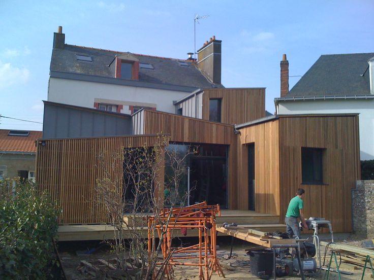 17 best images about agrandissements et extensions bois on for Extension maison 17