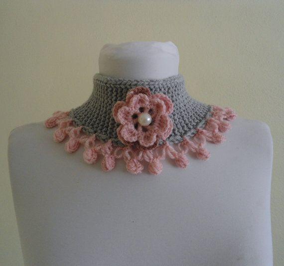knitted neck warmer winter hand-knittedgift by likeknitting