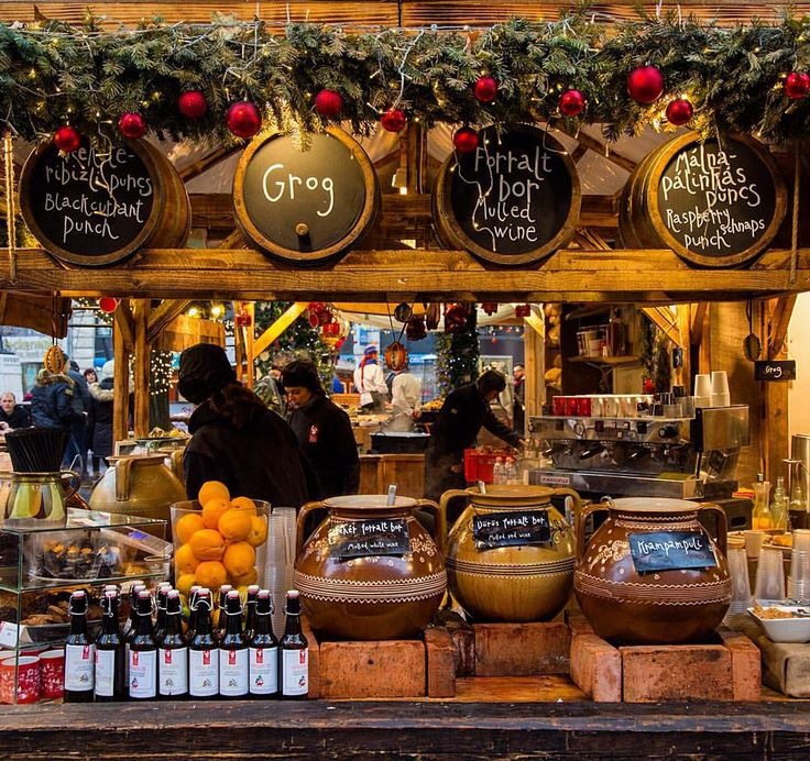Christmas market in Budapest, Hungary - @lonelyplanet