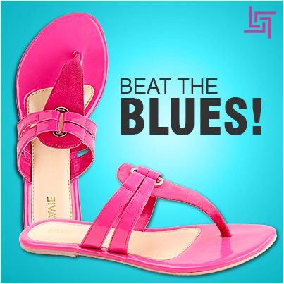 Beat the blues of a work day and add a touch of femininity to your attire with these hot pink flats from Lavie!