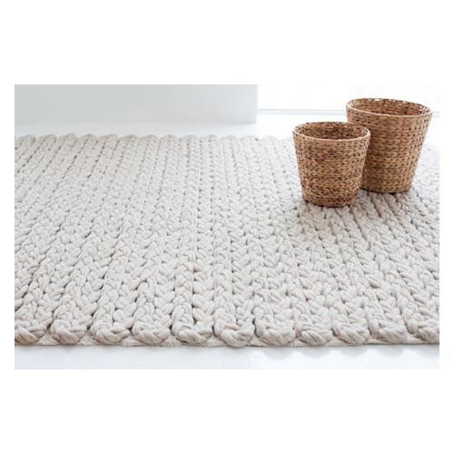 Gorgeous textures - Trenzas rugs