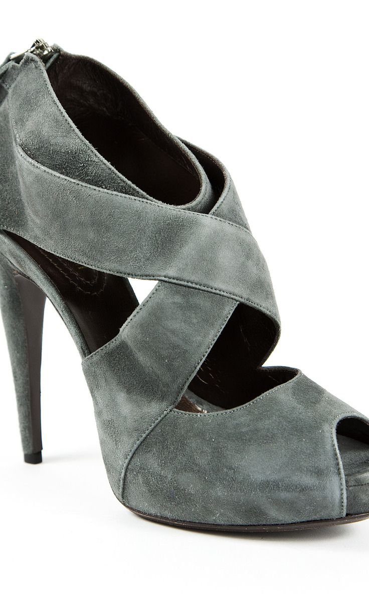 Roberto Cavalli Grey Sandal