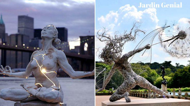 Самые креативные скульптуры мира.  Статуи, монументы и памятники со  всего мира в обзоре самых креативных  скульптур. Эти работы завораживают!  #JardinGenial #ландшафтный_дизайн  #Озеленение #Освещение #Полив #Постройки_на_участке