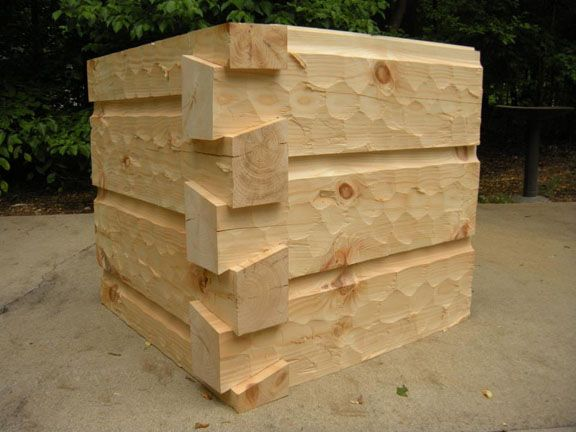 6x12 Curved Base Chink Joint German Chink Hand Hewed Dovetail Corners See More At Http