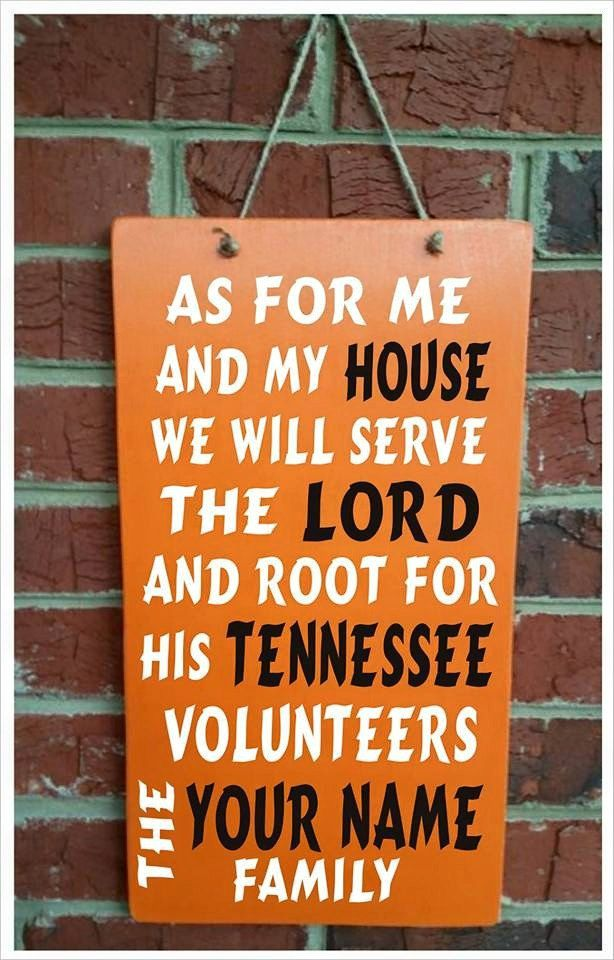 University of TENNESSEE VOLS custom made solid wood Home Decor by gdaykreations on Etsy