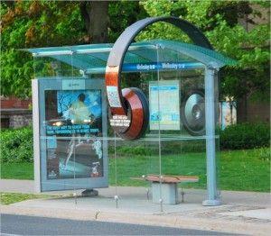 Bus shelter - #Street_Marketing #guerrilla_marketing