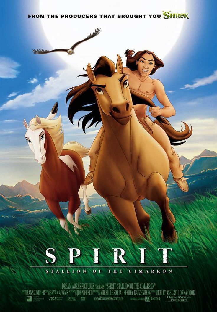 Spirit: stallion of the Cimarron  Still my favorite movie. It's inspirational, fun, full of adventure and something that the whole family will LOVE!!!