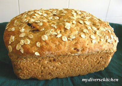 Eggless Oatmeal Bread | savoury baked goods | Pinterest