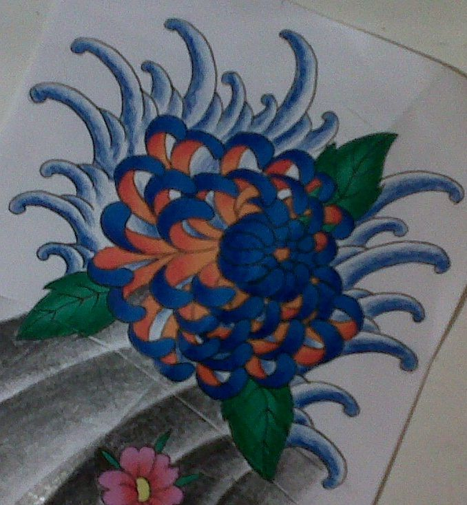 Best 25 Japanese Flower Tattoo Ideas On Pinterest