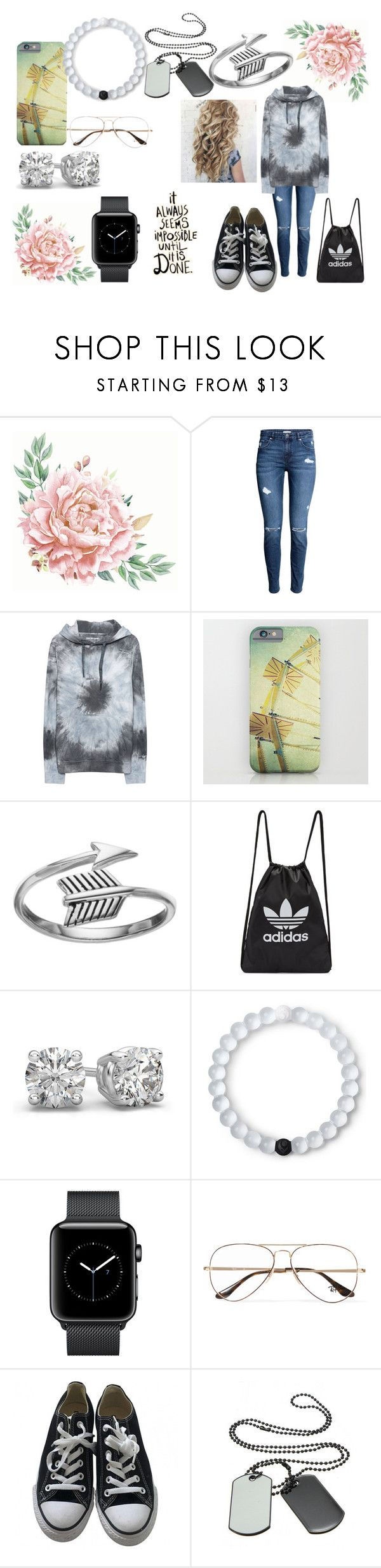 """....*inspirational title*........"" by bethecaptain on Polyvore featuring True Religion, Primrose, adidas Originals, Lokai, Ray-Ban and Converse"