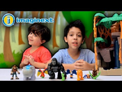 MONTANHA DO GORILA Imaginext (Gorilla Mountain)