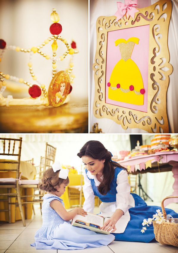 Beauty & the Beast party... wow!  BPR equipment, anyone??  :)