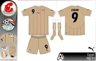 Egypt | away jersey | 2010-12