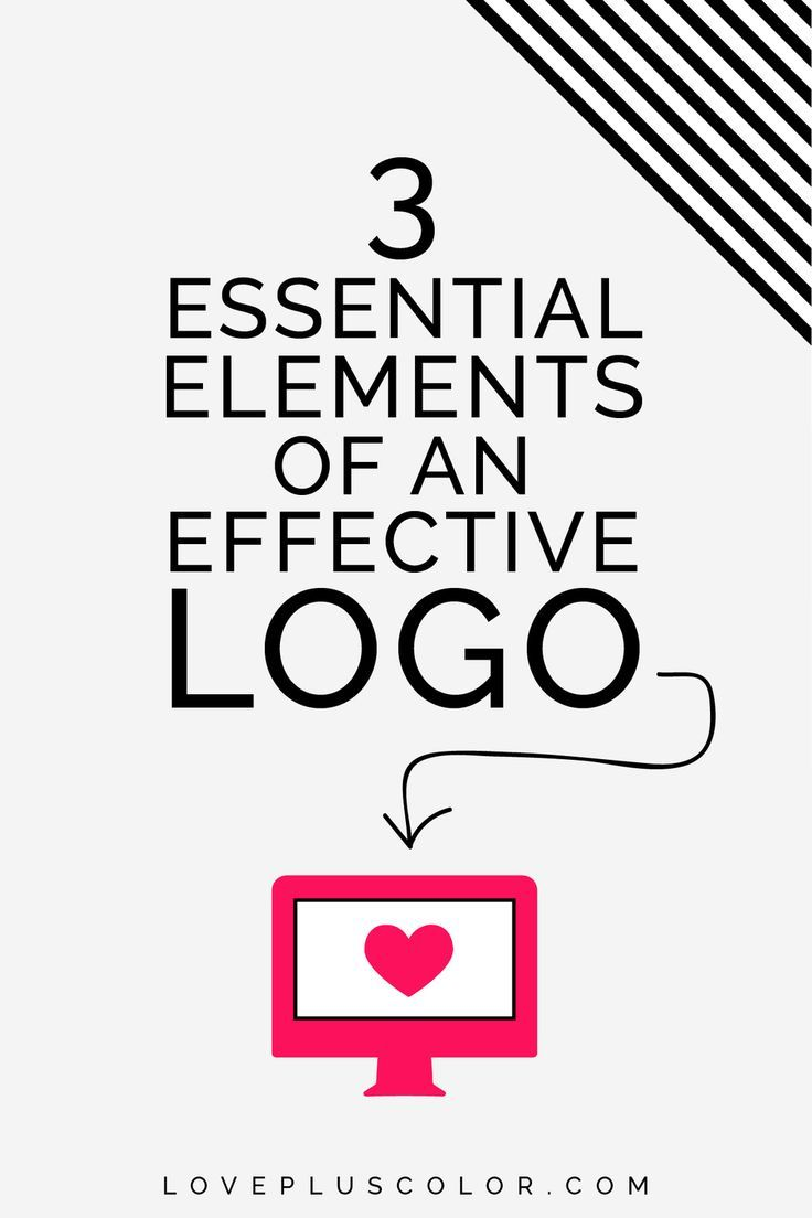 Is your logo working for your business or brand or just merely existing? Let's put some major intention behind it and have it become your brand's BFF! 3 essential elements of an effective logo | LOVE PLUS COLOR