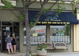Yumi's Sushi Bar in Excelsior, MN. One of my all time favorite restaurants!