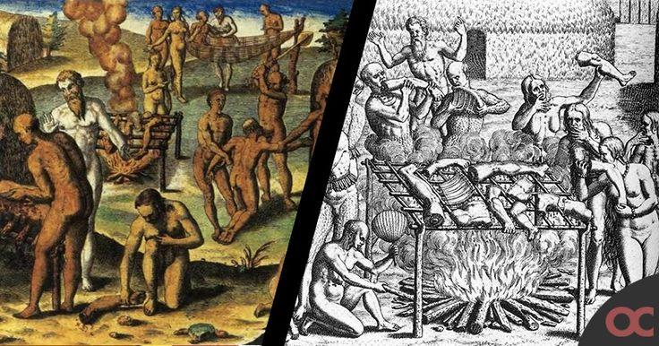 colon-canibales-La siguiente sorpresa fue encontrar a Fuerte Navidad destruído. Ninguno de los 39 españoles que Colón había dejado allí sobrevivió.
