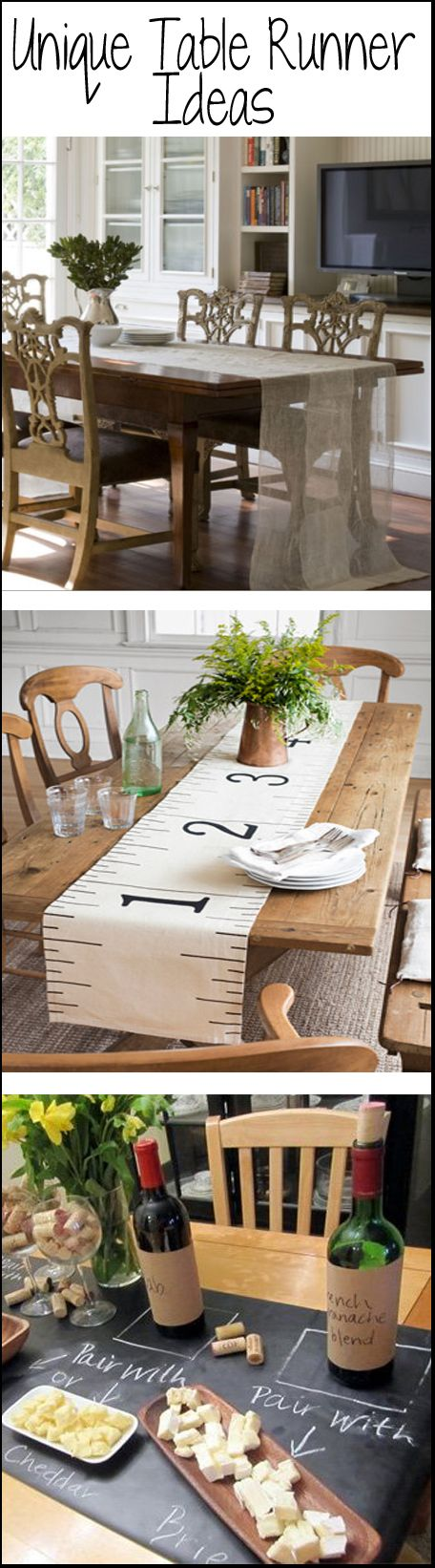 Unique-Table-Runner-Ideas.jpg 456×1,642 pixels