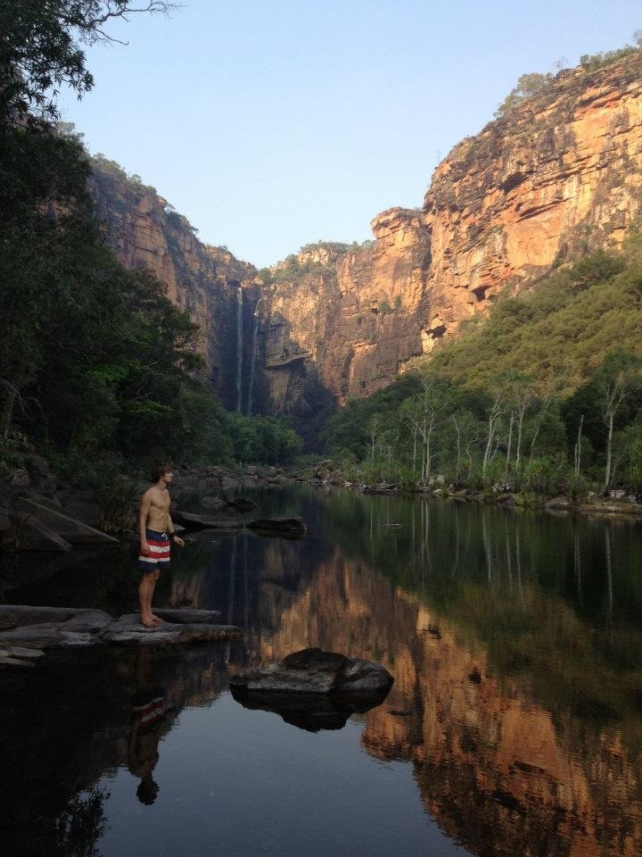 Jimjim Falls, Kakadu National Park, Darwin, Australia.
