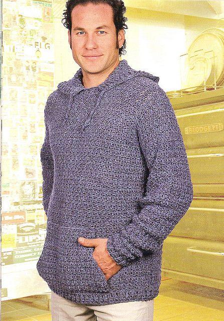 crochet hoodie pattern
