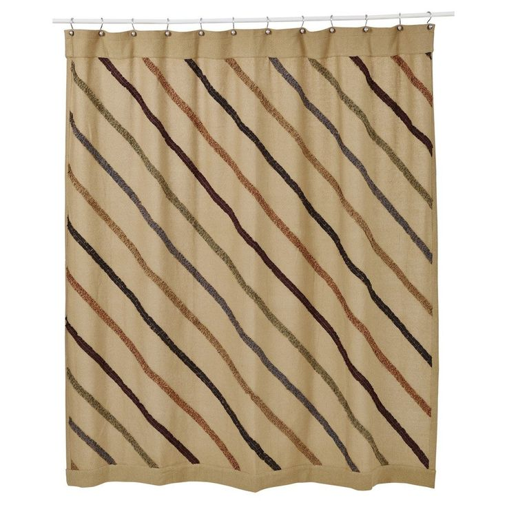 Lewiston Ruffled Burlap Shower CurtainCreate beauty and charm to your bathroom when you decorate with our ruffled burlap shower curtain.  Our curtain is unlined, is made from a 100% cotton burlap like