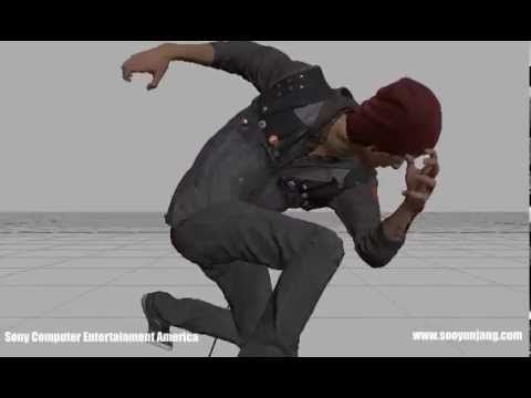 Sooyun Jang inFamous Second Son, First Light animation reel - YouTube