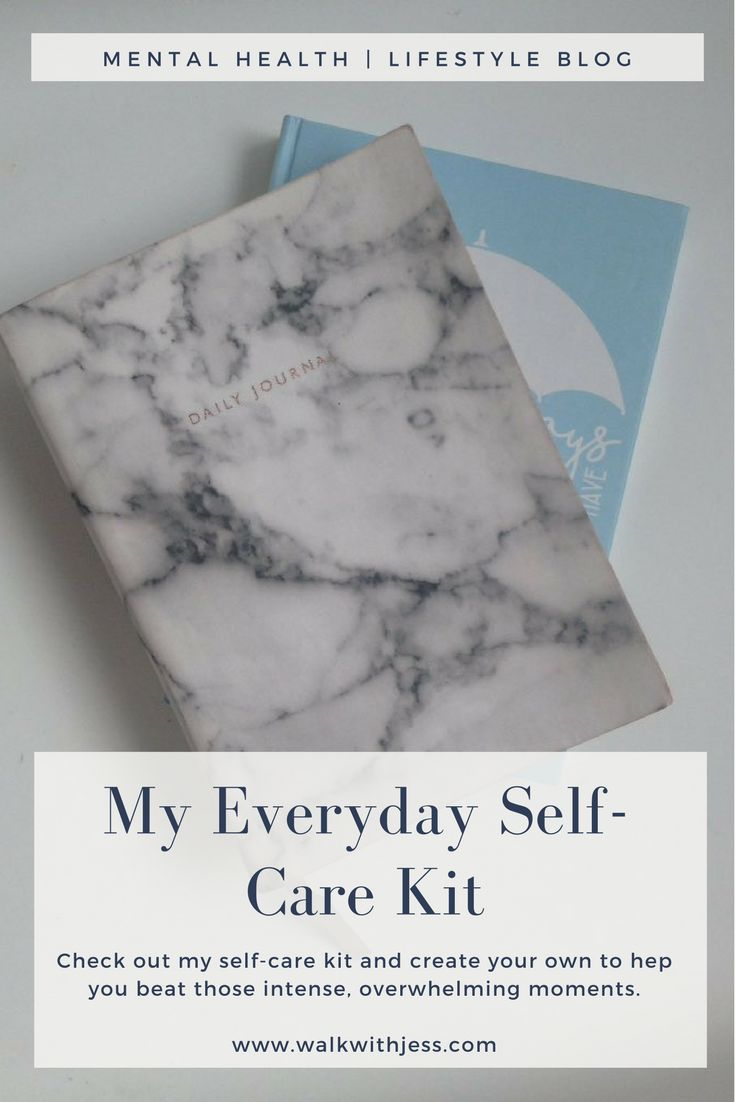 My Everyday Self Care Kit | WalkWithJess  #selfcare #mentalhealth #depression #mentalillness