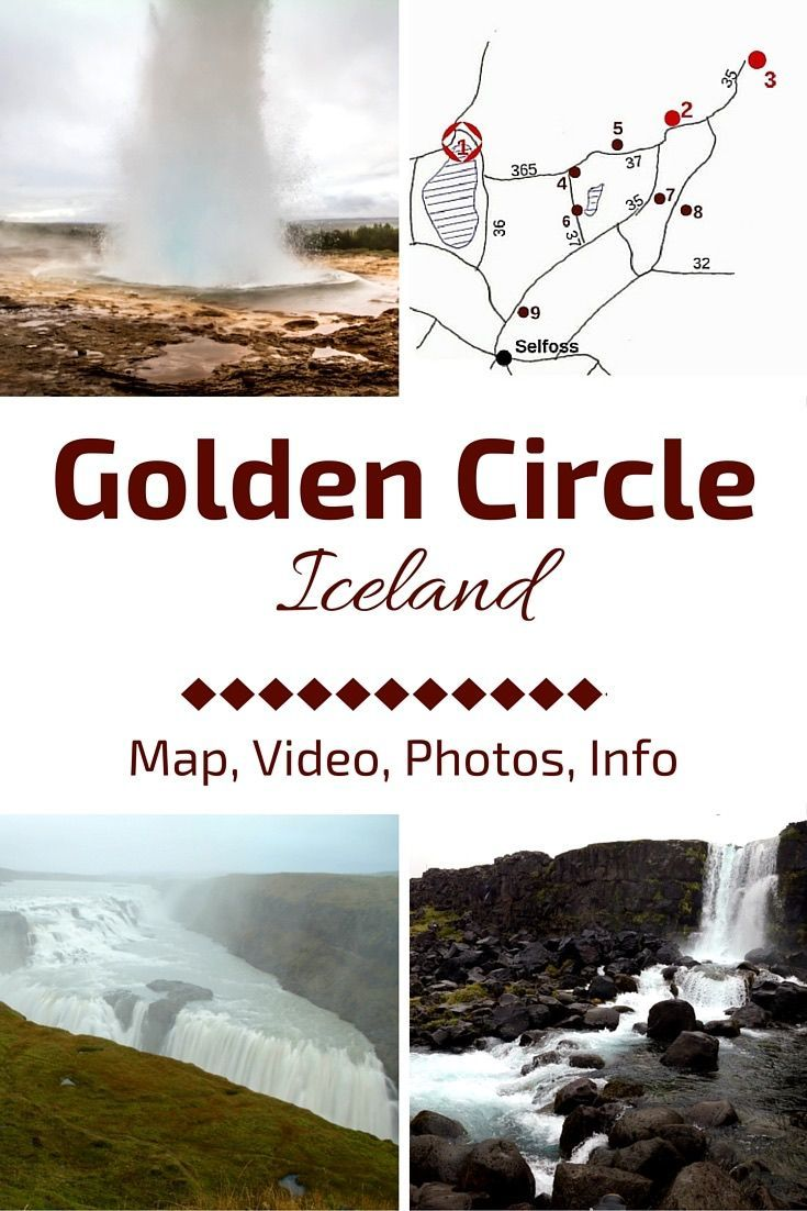 Discover one of the most famous drives on the island: The Golden Circle Iceland - The article includes a map, the major attractions of Thingvellir, Haukadalur and Gullfoss as well as other things to do + map and photos - http://www.zigzagonearth.com/golden-circle-iceland/