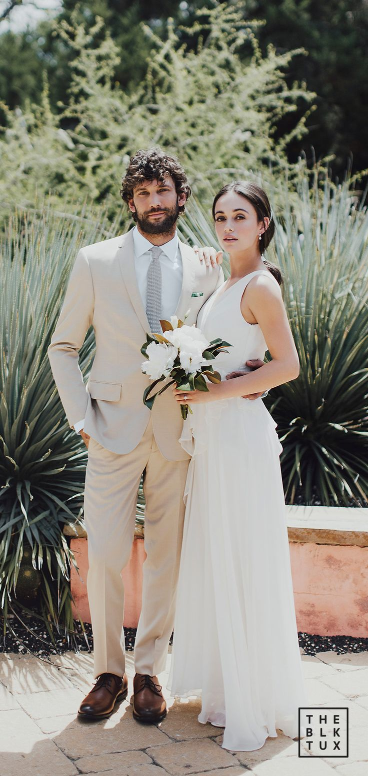 the black tux 2017 online tuxedo rental service tan suit casual wedding dress style inspiration -- Suit Up in Style, The Black Tux Way
