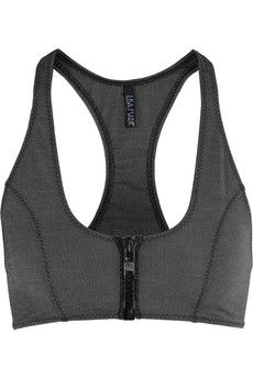 Lisa Marie Fernandez - Elisa stretch-denim sports bra