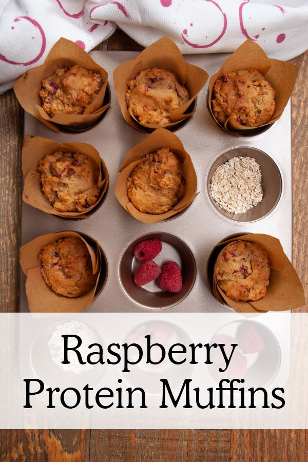 Raspberry Protein Muffins Protein Muffins After Workout Snack