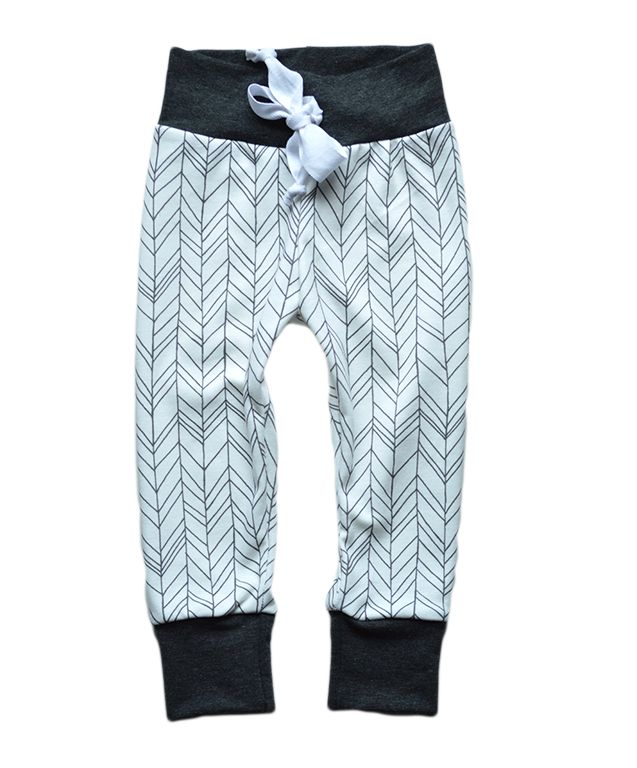 Lost Boy Joggers. Trendy hipster baby kids pants.
