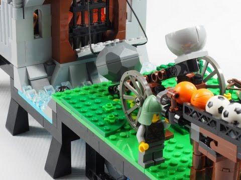 lego clock escapement instructions