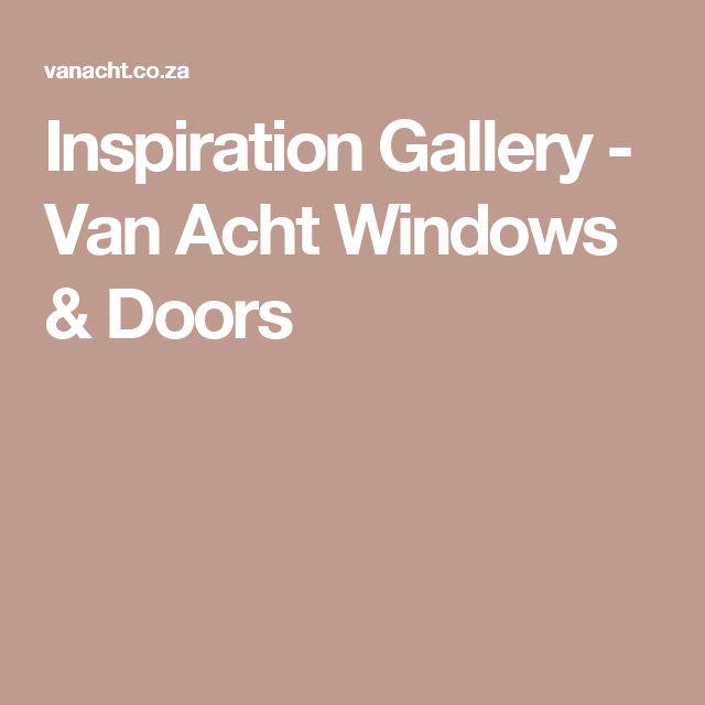 Inspiration Gallery - Van Acht Windows & Doors